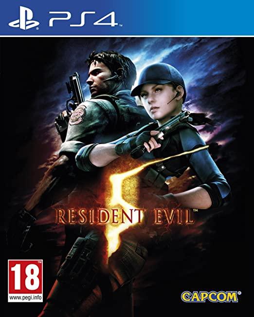 Resident Evil 5 PS4 (Novo)