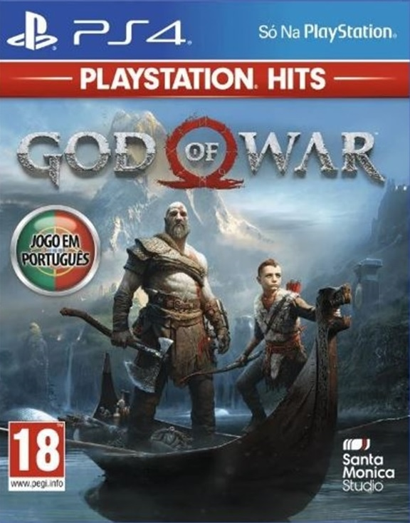 God of War PS4 (Novo)