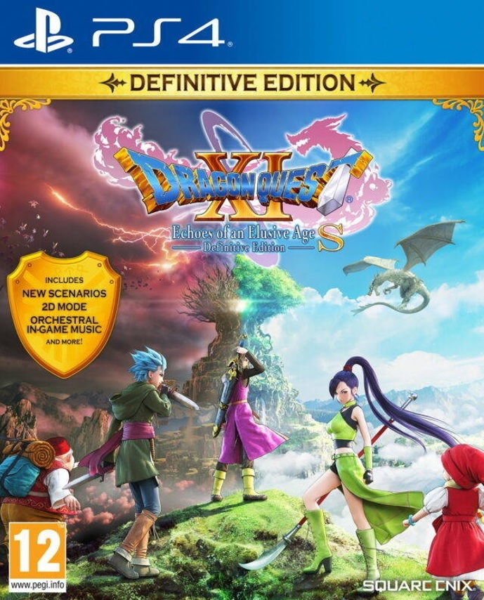 Dragon Quest XI: Echoes of an Elusive Age Definitive Edition PS4 (Novo)