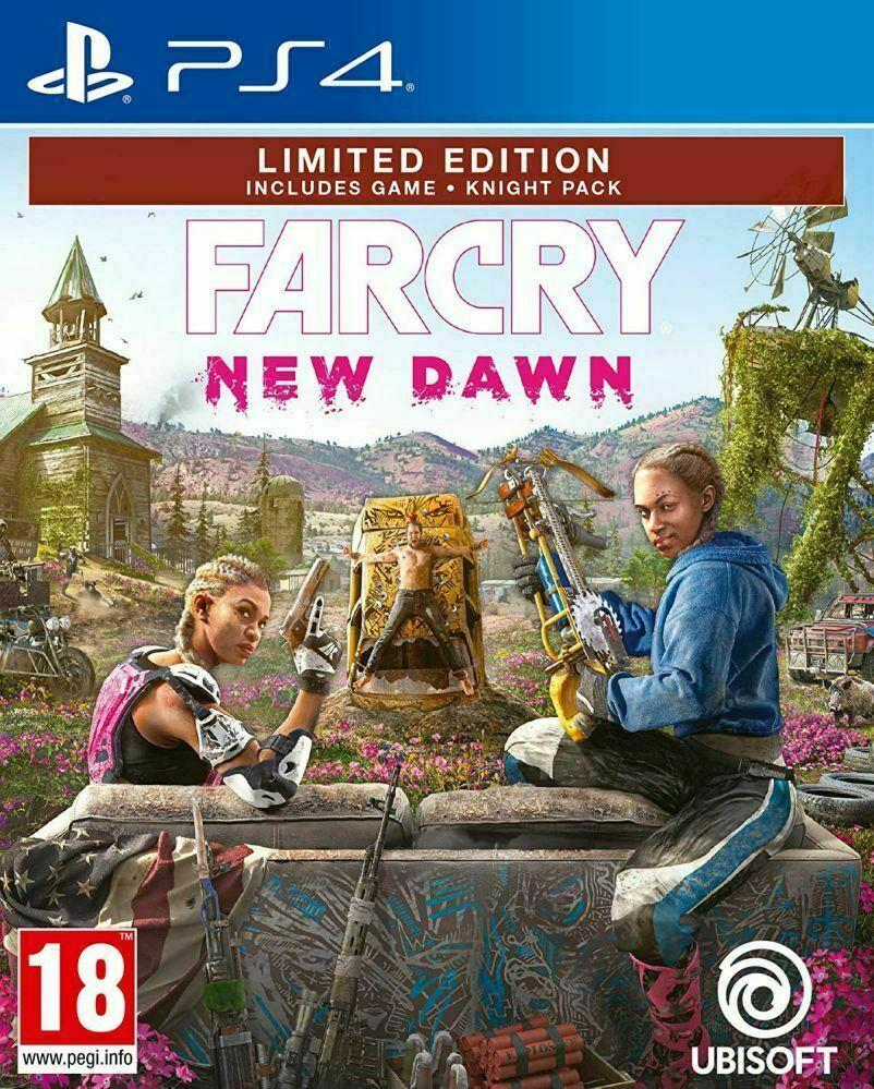 Far Cry New Dawn - Limited Edition PS4 (Novo)