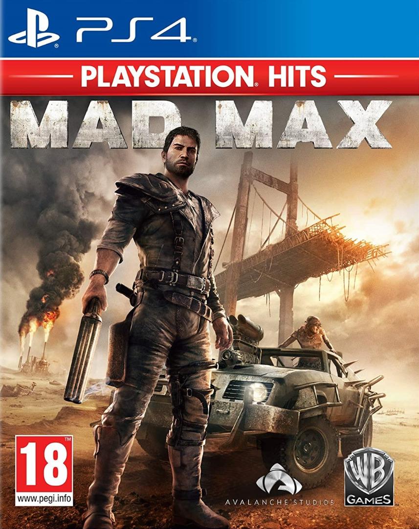 Mad Max PS4 (Novo)