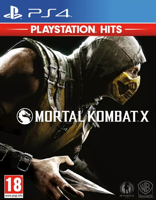Mortal Kombat X PS4 (Novo)