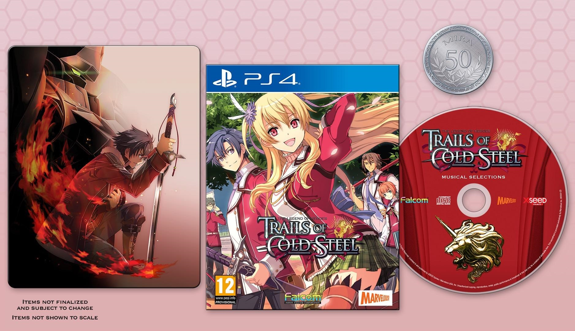The Legend of Heroes: Trails of Cold Steel Decisive Edition PS4 (Novo)