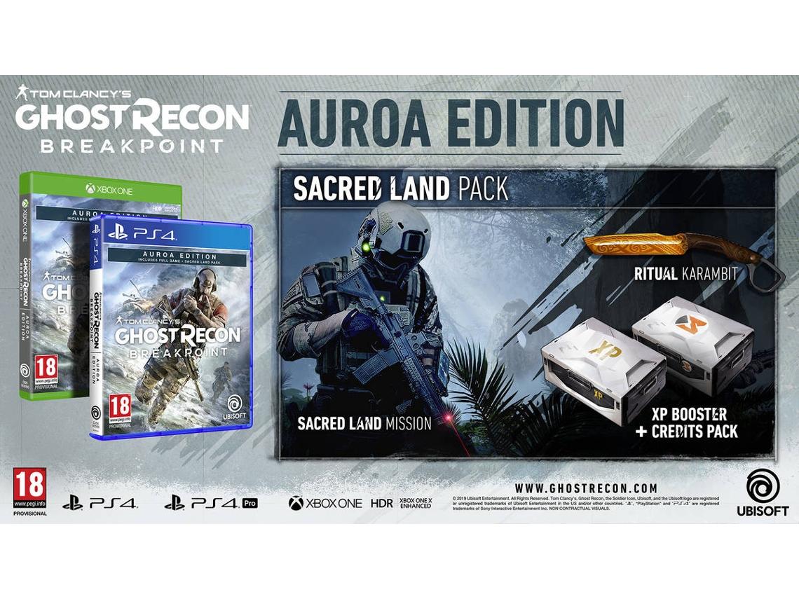 Tom Clancys Ghost Recon: Breakpoint - Aurora Edition PS4 (Novo)