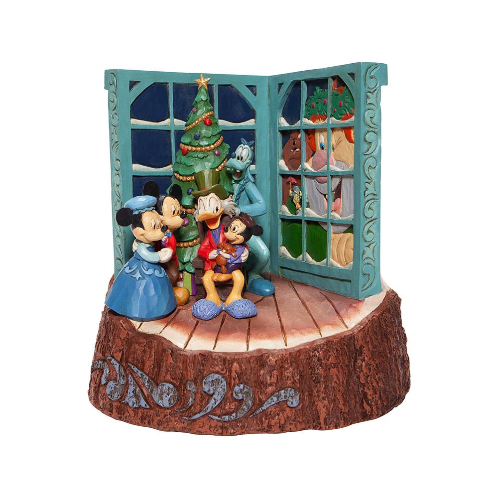Disney Showcase Collection Disney Traditions Mickey's Christmas Carol 20 cm