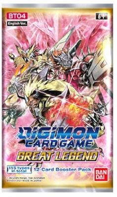 Digimon Card Game - Great Legend Booster BT04 Eng