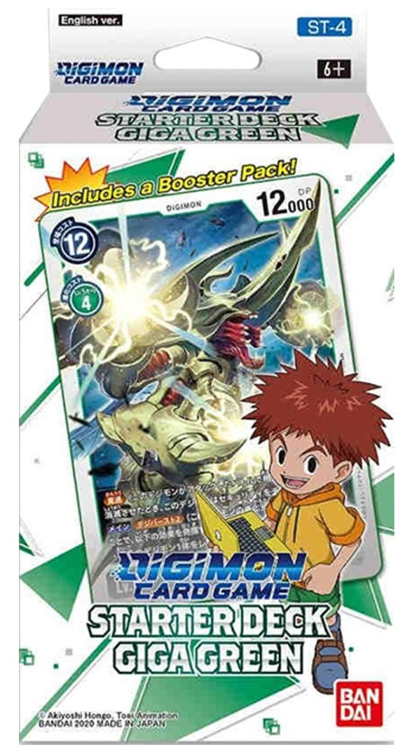 Digimon Card Game - Starter Deck Giga Green ST-4 English