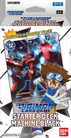 Digimon Card Game - Starter Deck Machine Black ST-5 Eng