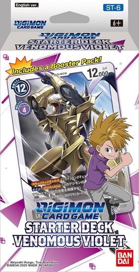 Digimon Card Game - Starter Deck Venomous Violet ST-6 Eng