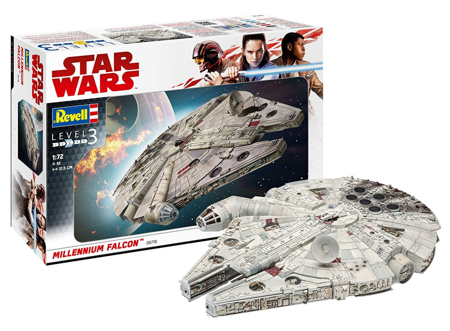 Revell Model Kit Star Wars Millennium Falcon Scale 1:72