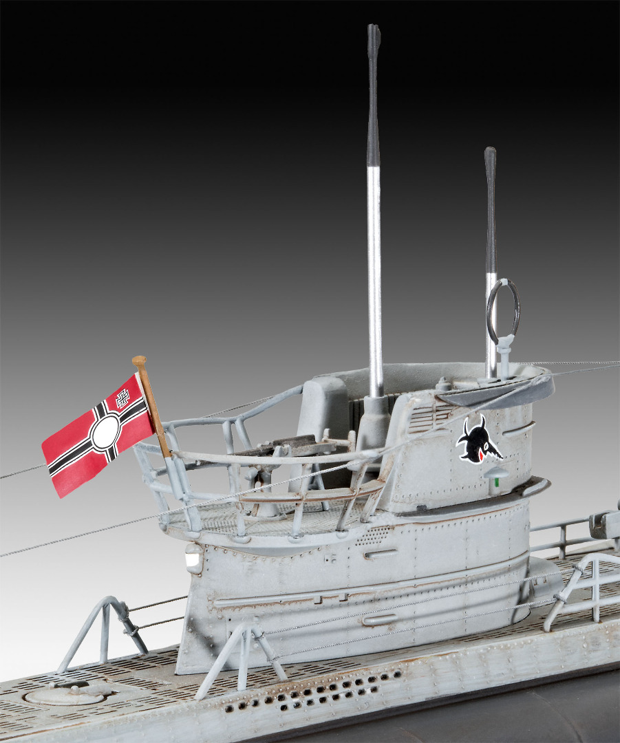 Revell Gift Set Das Boot Collector's Edition Type VII C - U96 Scale 1:144