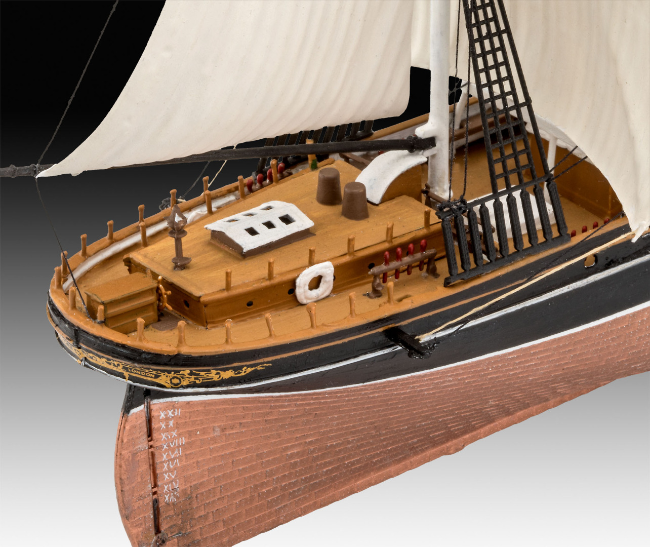 Revell Model Gift Set Cutty Sark 150th Anniversary Scale 1:220