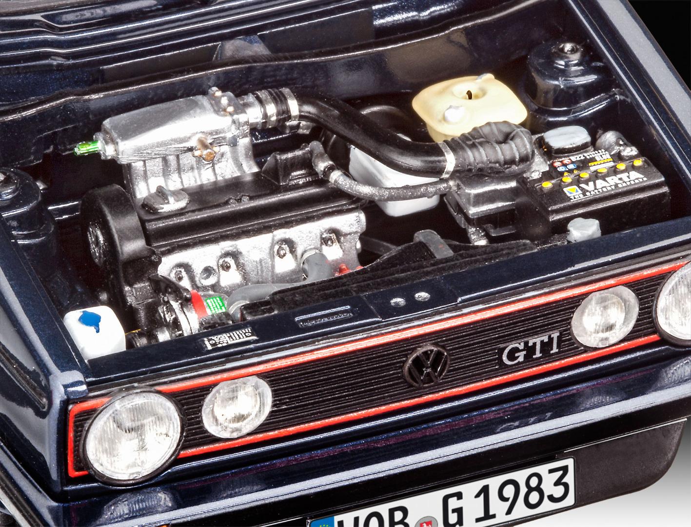 Revell Model Gift Set 35 Years VW Golf 1 GTI Pirelli Scale 1:24