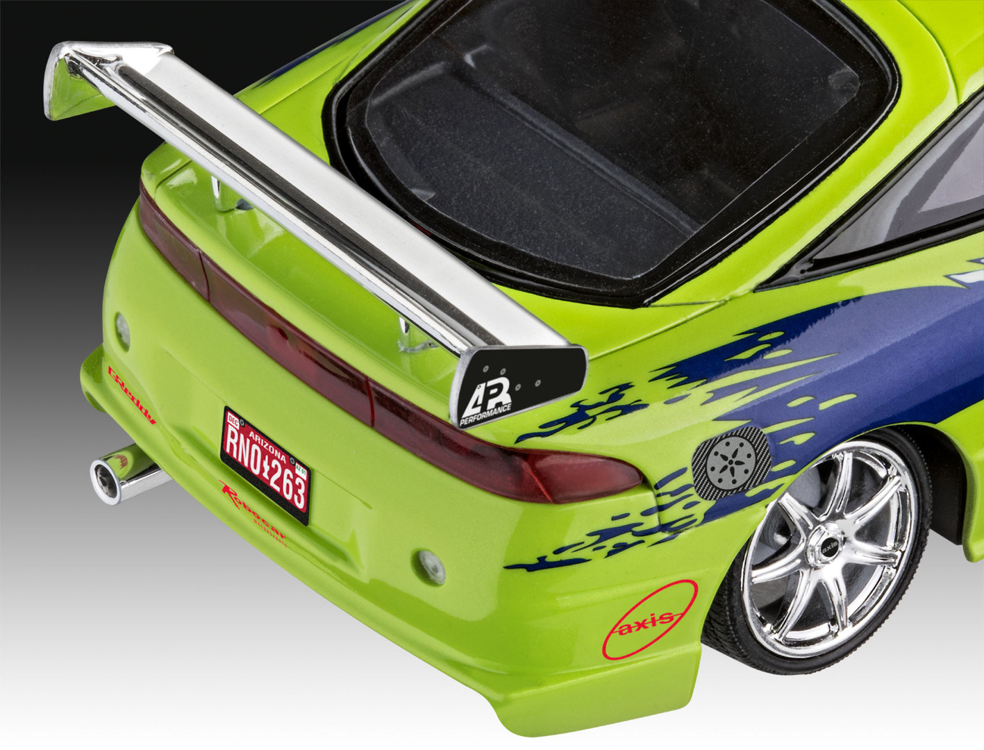 Revell Model Kit Fast & Furious Brian's 1995 Mitsubishi Eclipse Scale 1:25