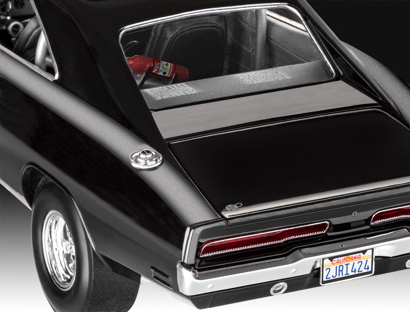 Revell Model Kit Fast & Furious - Dominics 1970 Dodge Charger 1:25