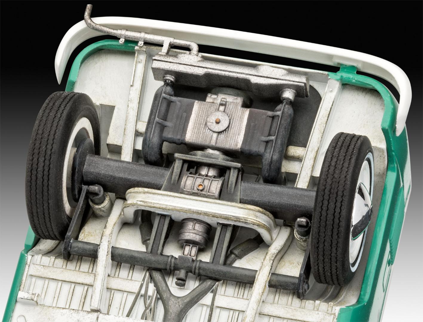 Revell Model Kit VW T1 Bus Scale 1:24