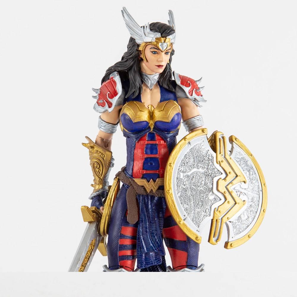 DC Multiverse Action Figure Wonder Woman Designed by Todd McFarlane 18 cm