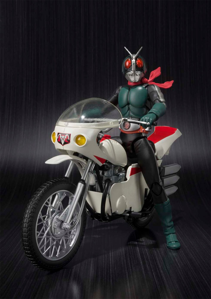 Kamen Rider S.H. Figuarts  with Vehicle Masked Rider 2 & Remodeled Cyclone