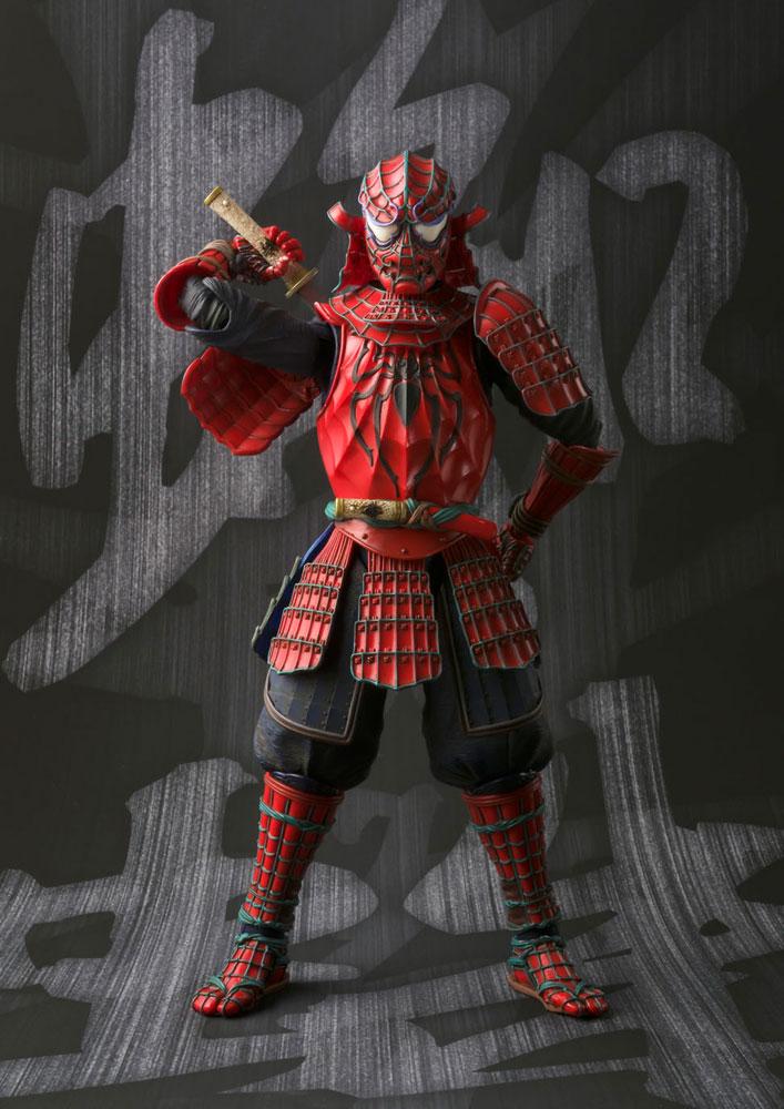 Marvel Comics Meisho Manga Realization A. Figure Samurai Spider-Man 18 cm