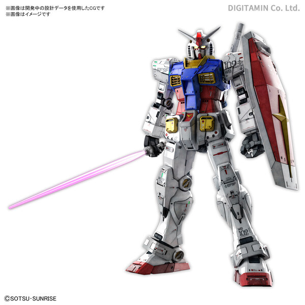 Gundam: PG Unleashed RX-78-2 Gundam 1:60 Scale Model Kit