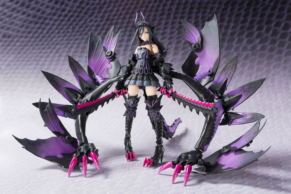 Monster Hunter AGP Action Figure Tamashii Mix Dark Princess Gore Magala