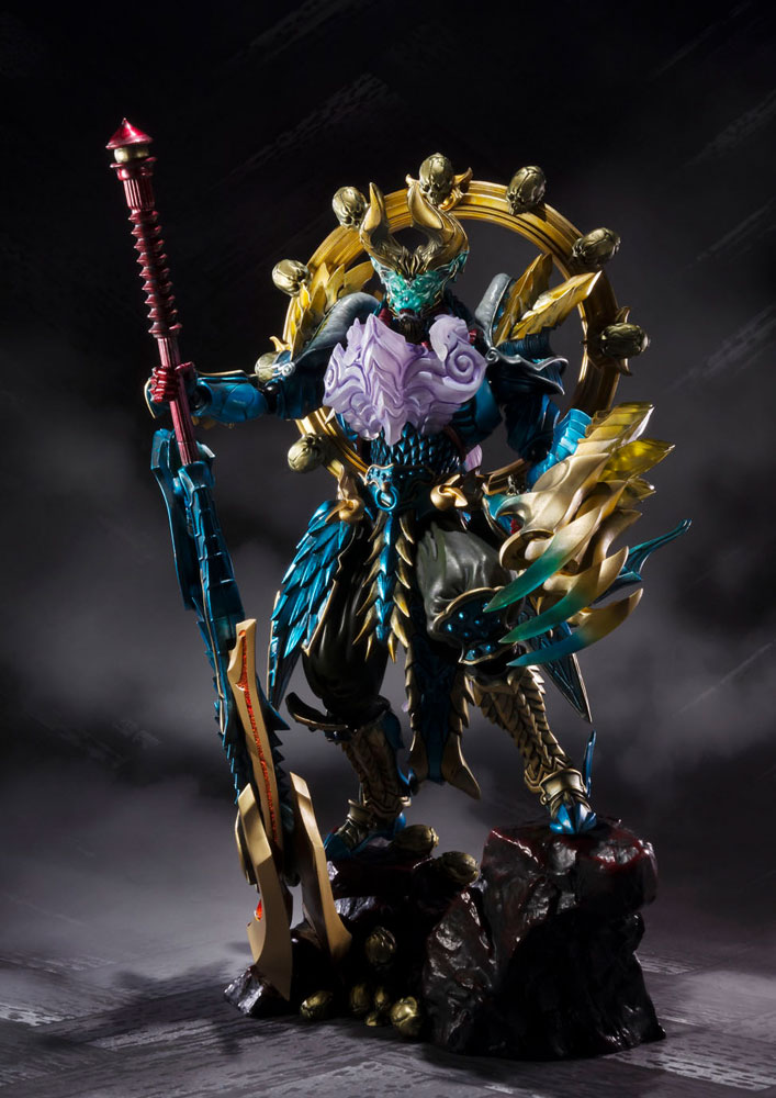 Monster Hunter S.H. Figuarts Monster Hunter Evil God Awakening Zinogre