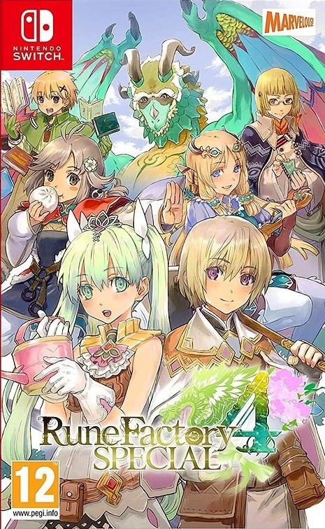 Rune Factory 4 Special Nintendo Switch (Novo)