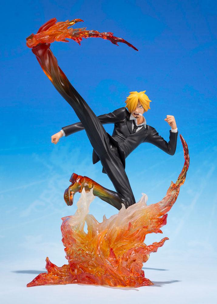One Piece FiguartsZERO PVC Statue Sanji -Diable Jambe Premier Hachis 16 cm