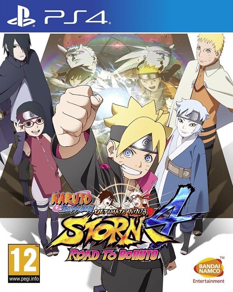Naruto Shippuden: Ultimate Ninja Storm 4 - Road to Boruto PS4 (Novo)