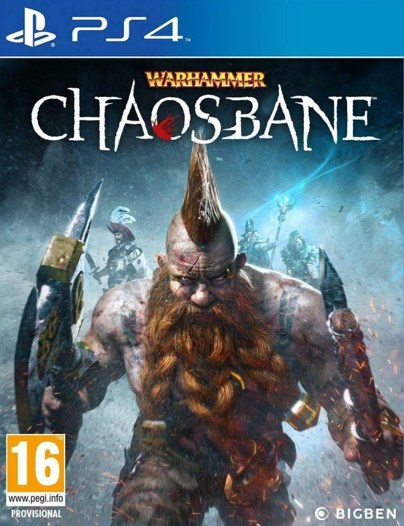 Warhammer Chaosbane PS4 (Novo)