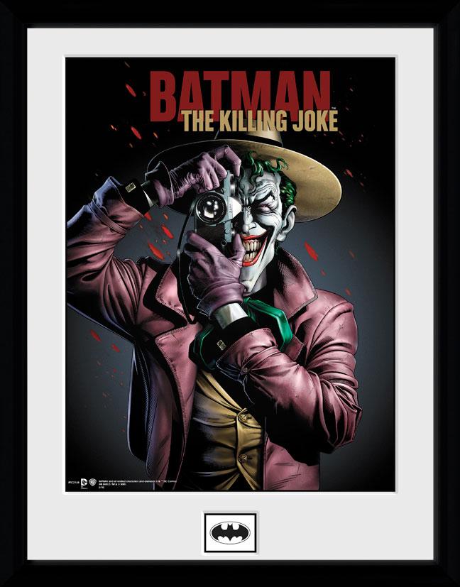 Poster com Moldura Premium Batman Killing Joke 45 x 34 cm