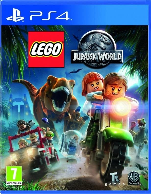 LEGO Jurassic World PS4 (Novo)