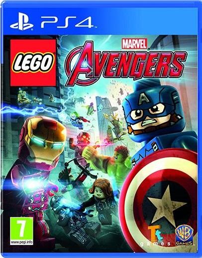 Lego Marvel Avengers PS4 (Novo)