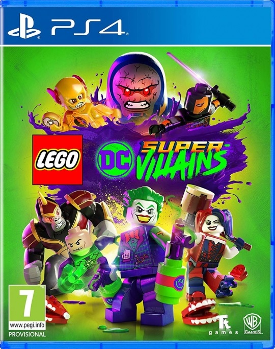 LEGO DC Super-Villains PS4 (Novo)