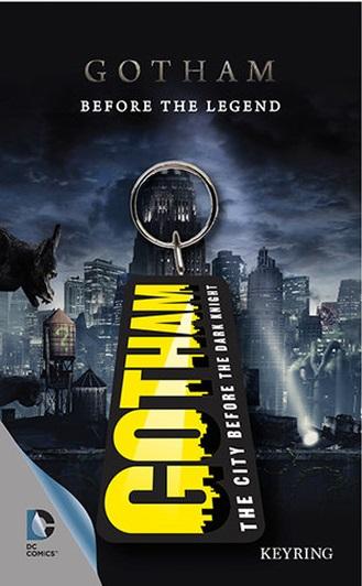 Porta-Chaves DC Gotham Logo 6 cm
