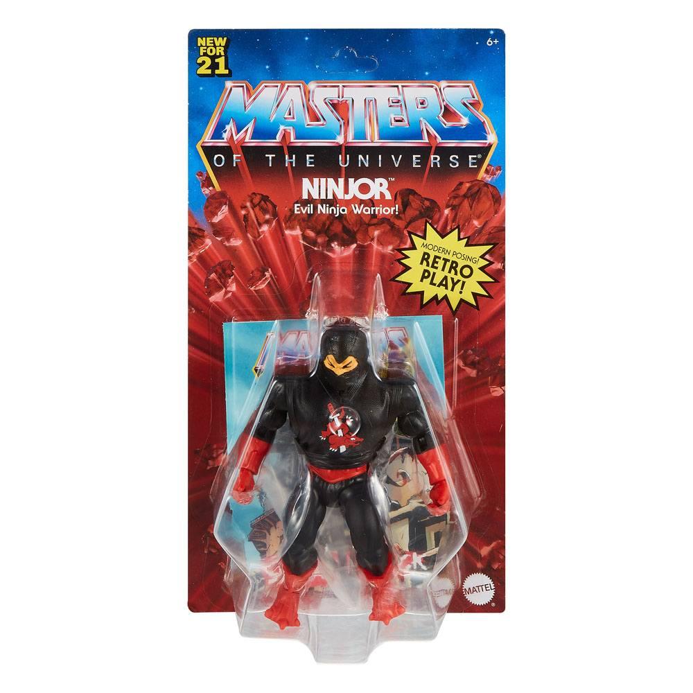 Masters of the Universe Origins Action Figure 2021 Ninjor 14 cm