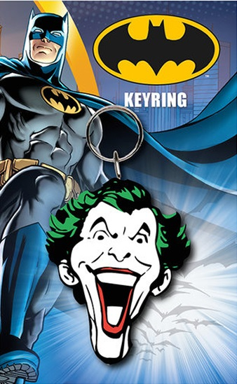 Porta-Chaves DC Joker Face 6 cm