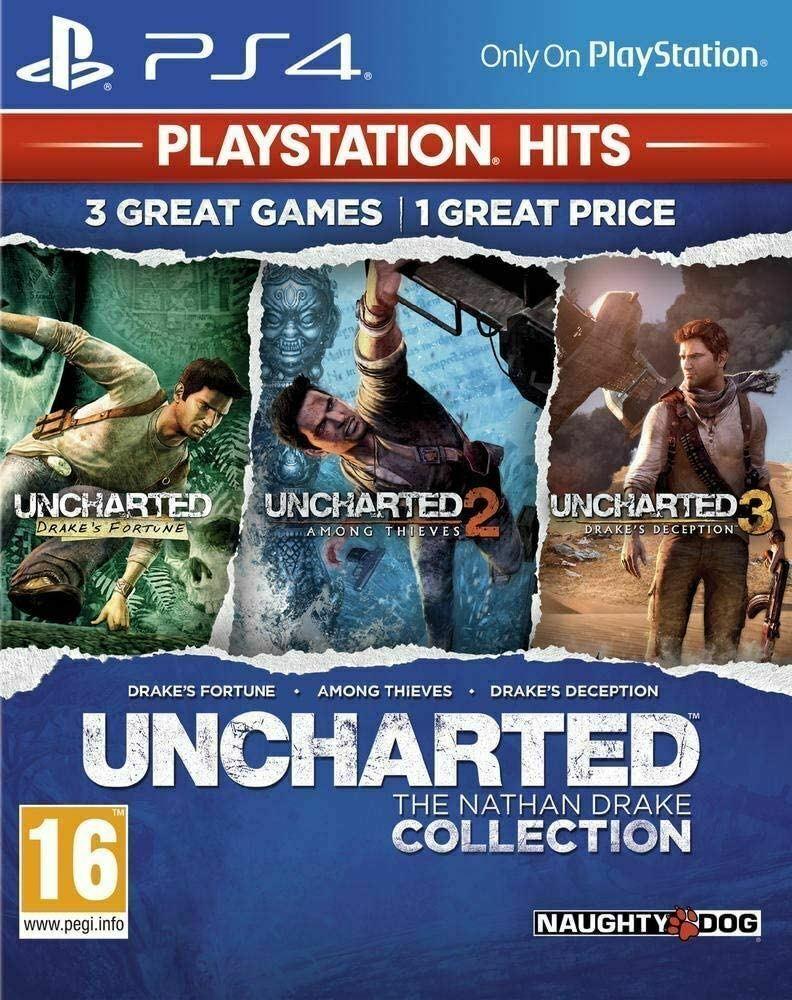 Uncharted: The Nathan Drake Collection PS4 (Novo)