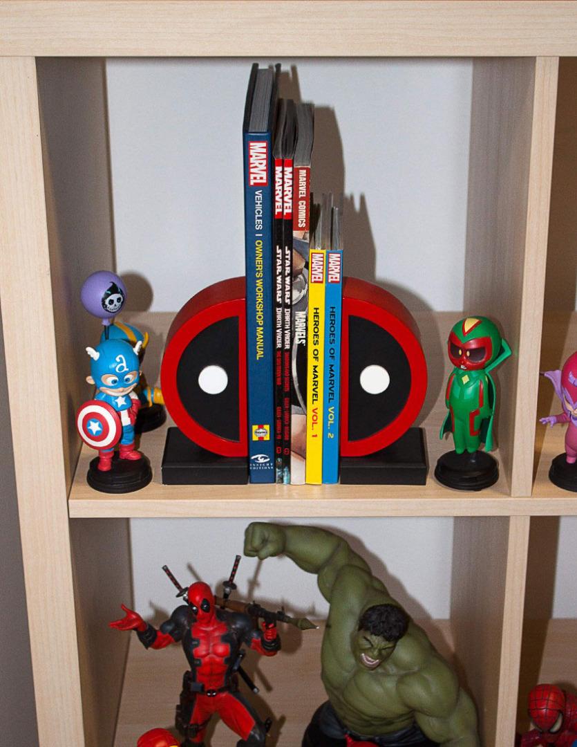 Marvel Comics Bookends Deadpool Logo 16 cm