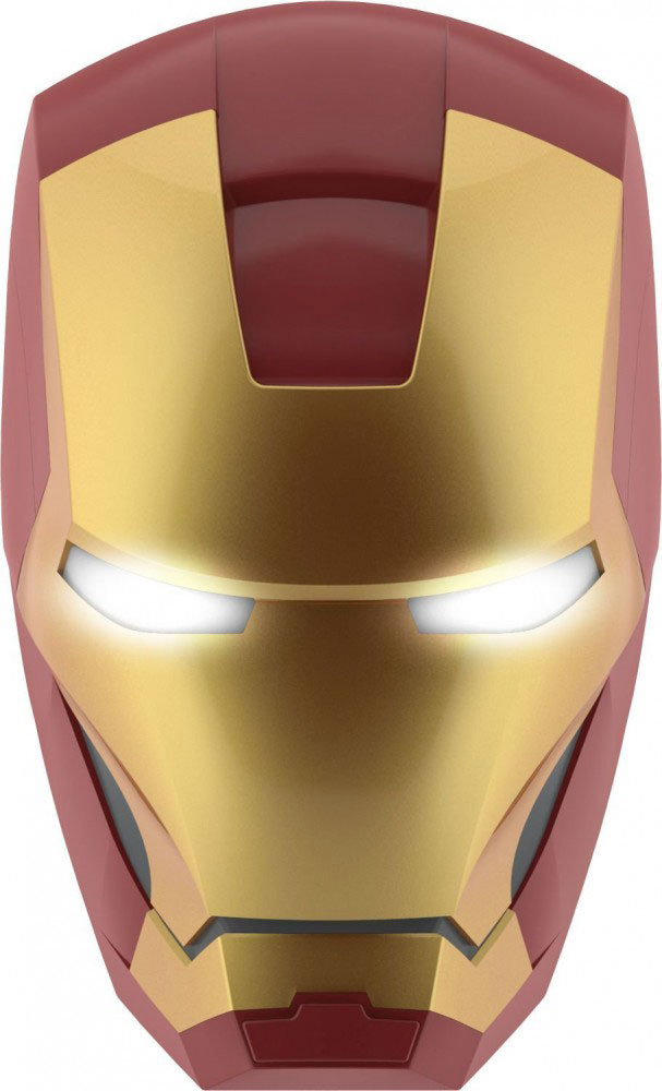 Marvel Comics 3D LED Light Iron Man Mask