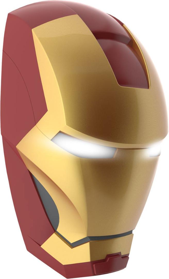 Marvel Comics 3D LED Light Iron Man Mask