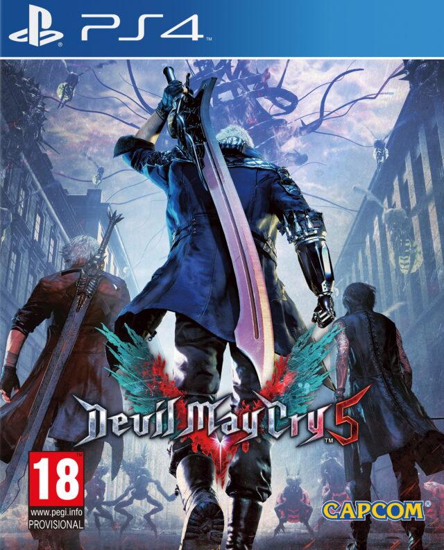 Devil May Cry 5 PS4 (Novo)