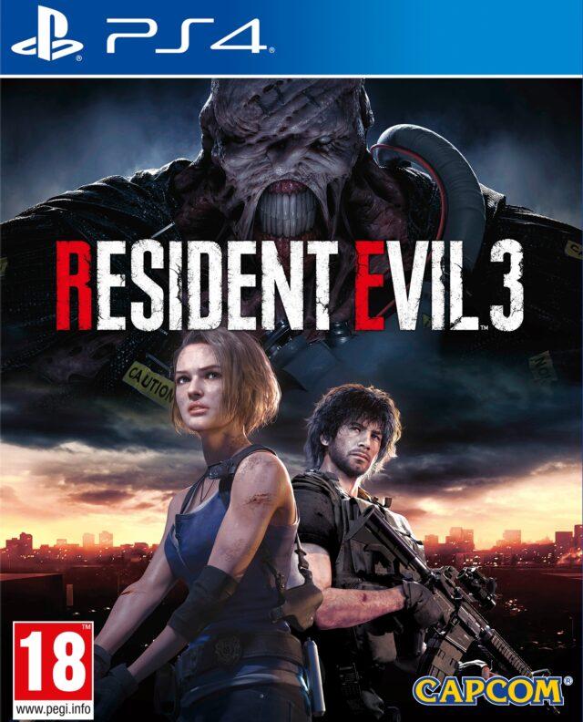 Resident Evil 3 PS4 (Novo)
