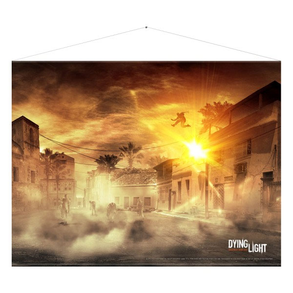 Dying Light Wallscroll Parkour 100 x 77 cm
