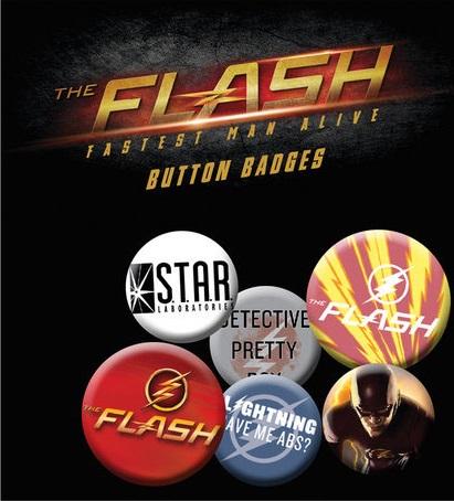 Conjunto de 6 Pins DC Flash