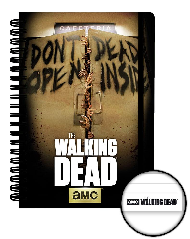Walking Dead Dead Inside Notebook A5