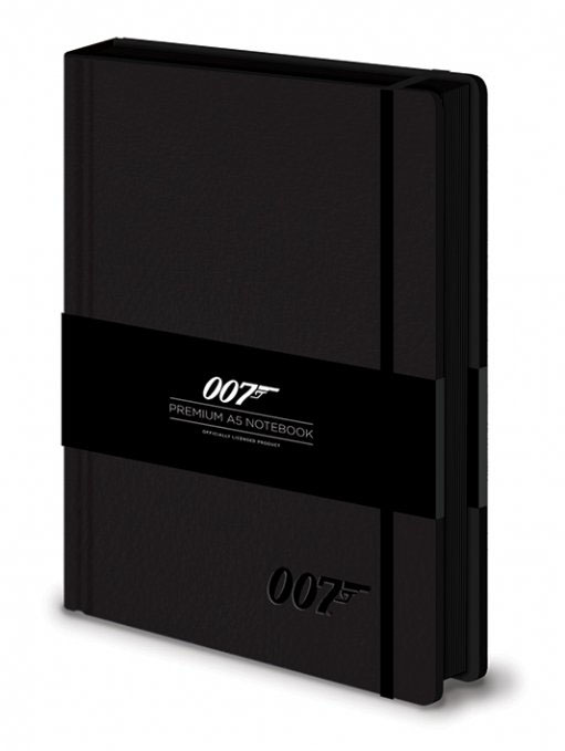 James Bond Premium Notebook A5 007 Logo