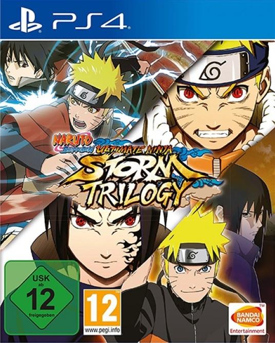 Naruto Ultimate Ninja Storm Trilogy PS4 (Novo)