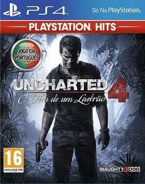 Uncharted 4: A Thief's End PS4 (Novo)