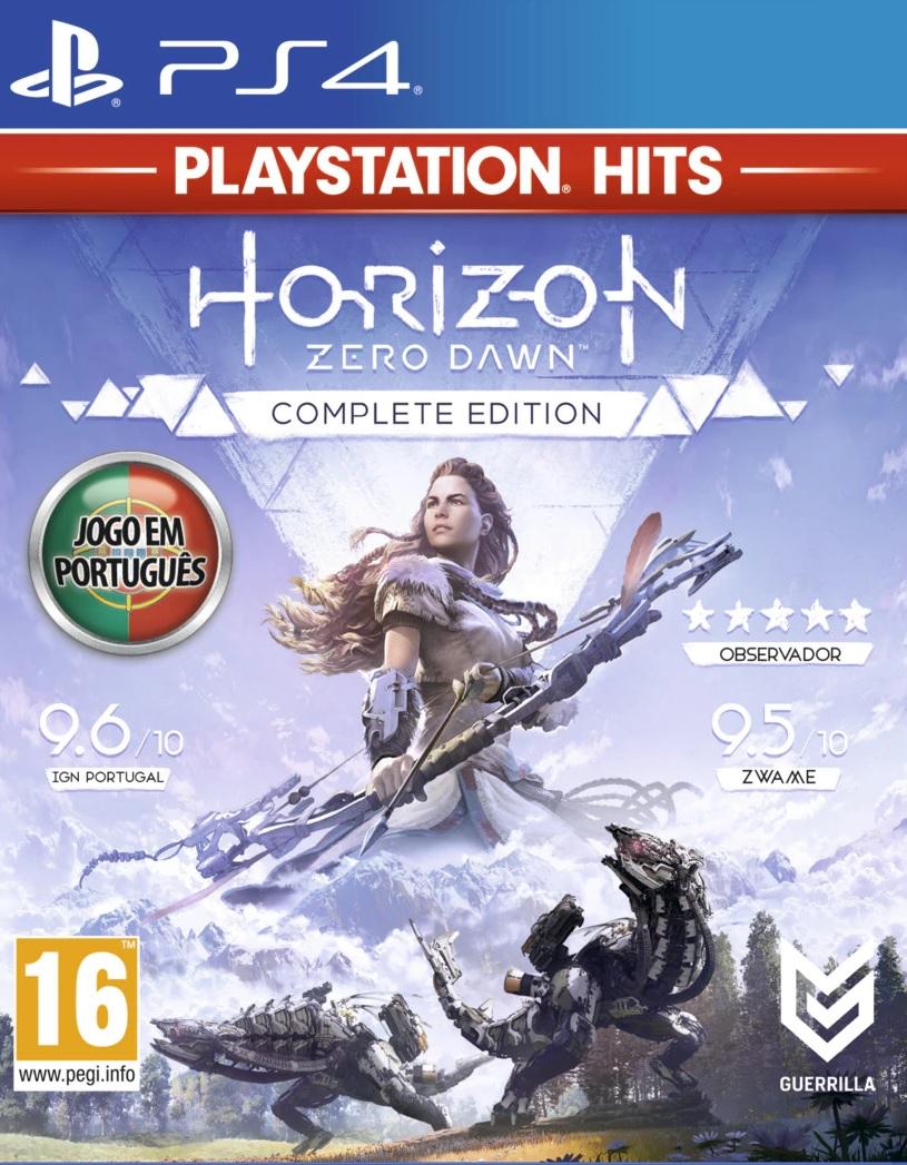 Horizon Zero Dawn Complete Edition PS4 (Novo) (Em português)
